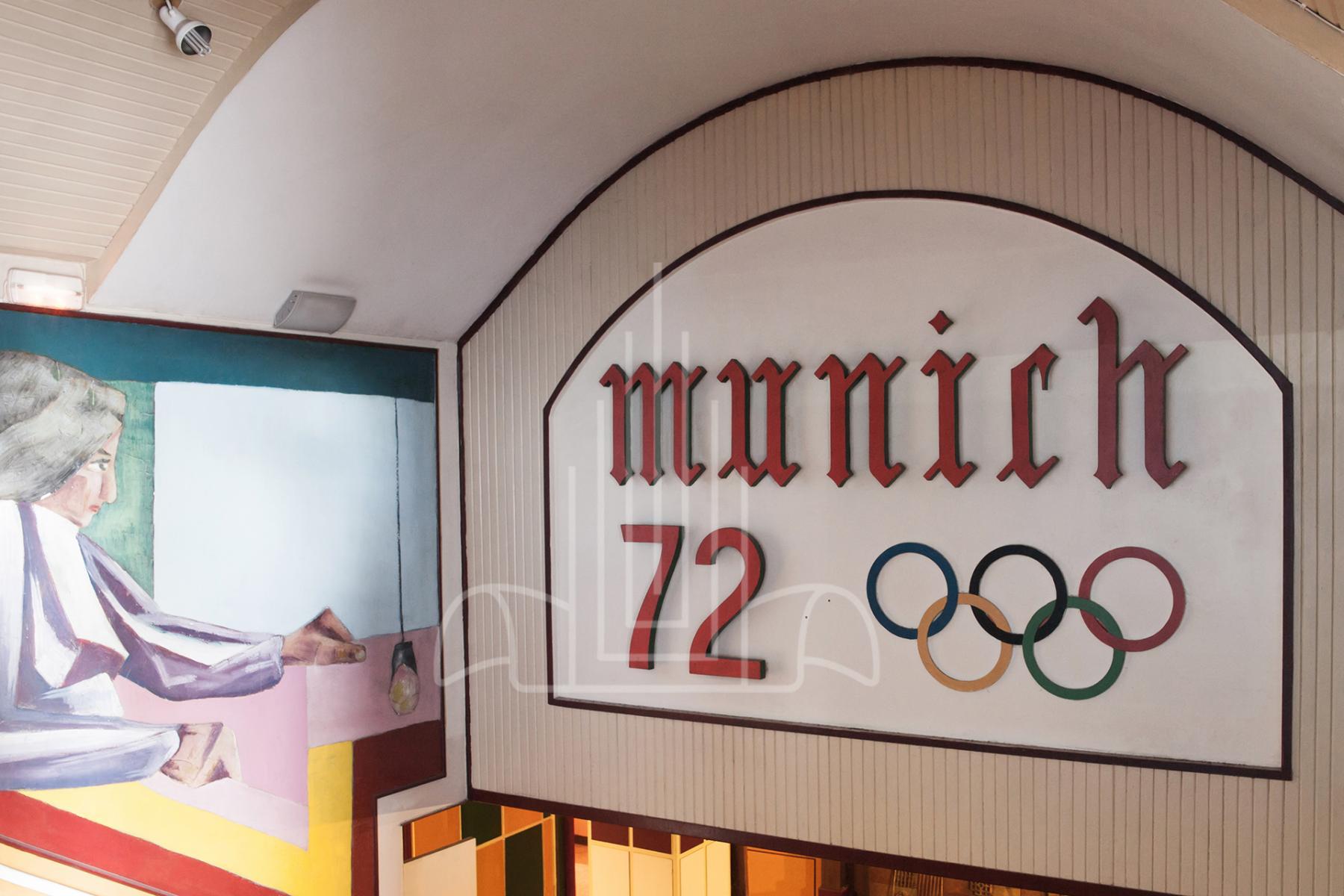 Acceso al local Munich 72 Santurtzi