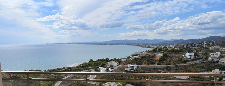 Vistas de la bahía de Benicassim desde nuestros apartamentos