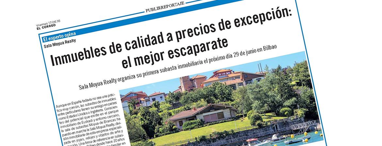 Publireportaje El Correo.