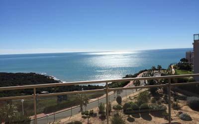 Vistas al mar desde el balcón