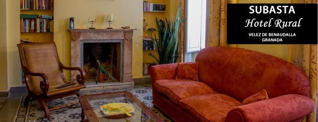 Subasta de ofertas del Hotel Rural Casa del Marqués en Velez de Benaudalla, Granada