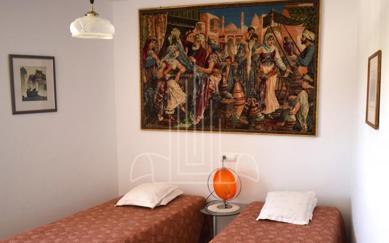 Dormitorio del apartamento de servicio