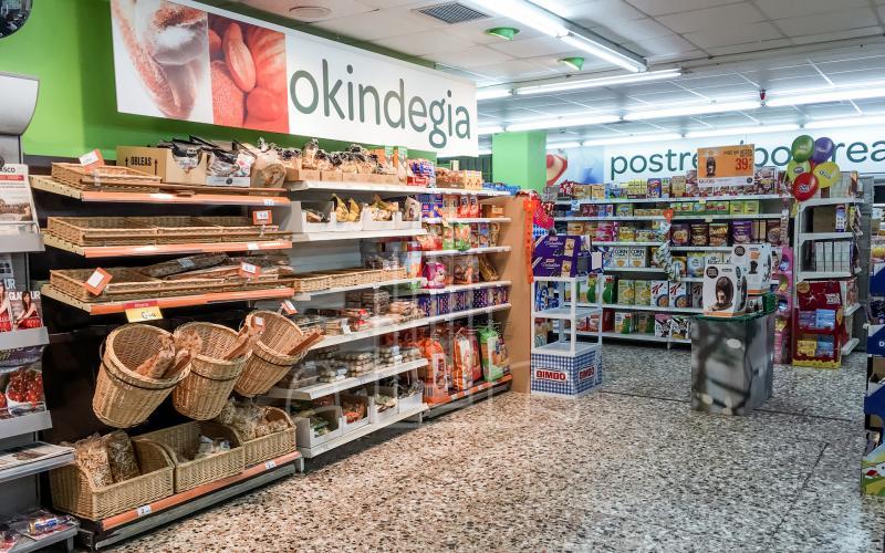 Sección de panadería en local comercial en venta subasta en Lasarte Oria
